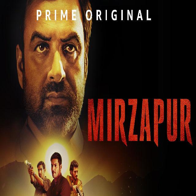 Mirzapur Hindi web series shows