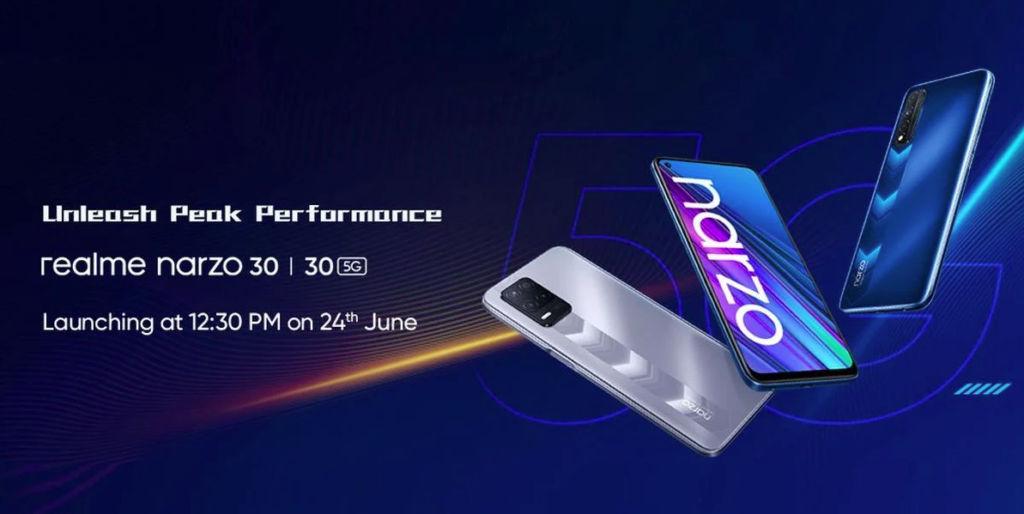 Realme Narzo 30 5G colour
