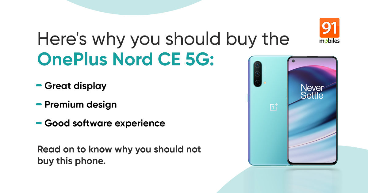 oneplus nord ce 5g reasons to not buy