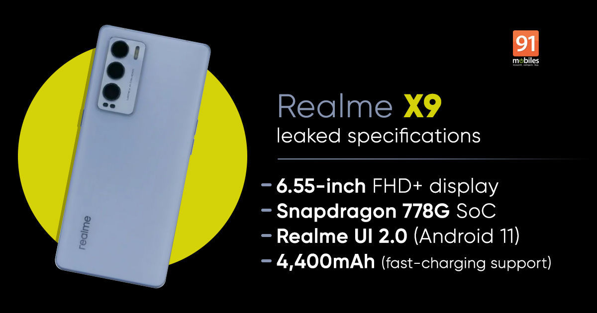 realme x9 leaked specs featured 1