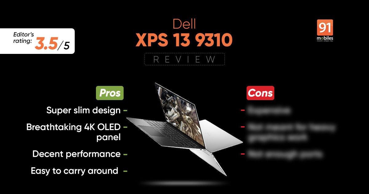 एक्सपीएस 13 9310 समीक्षा चिकना और महंगा price