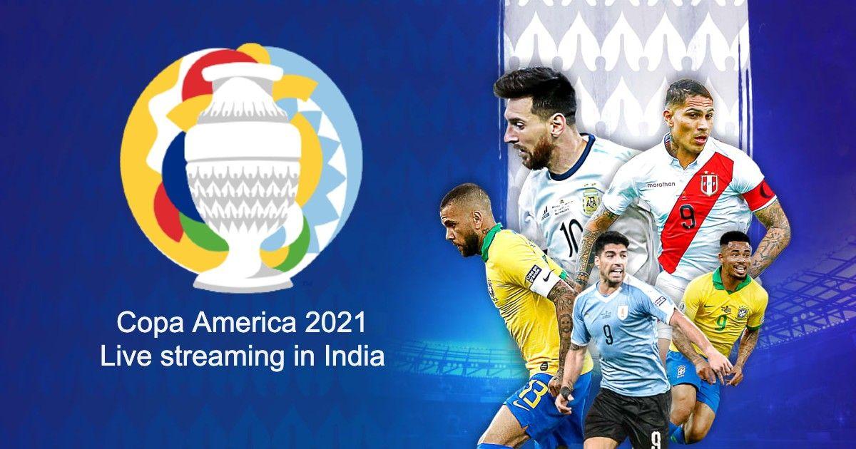 Copa America 2021 live streaming