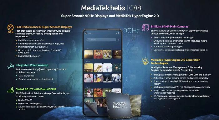 मीडियाटेक हेलियो G88