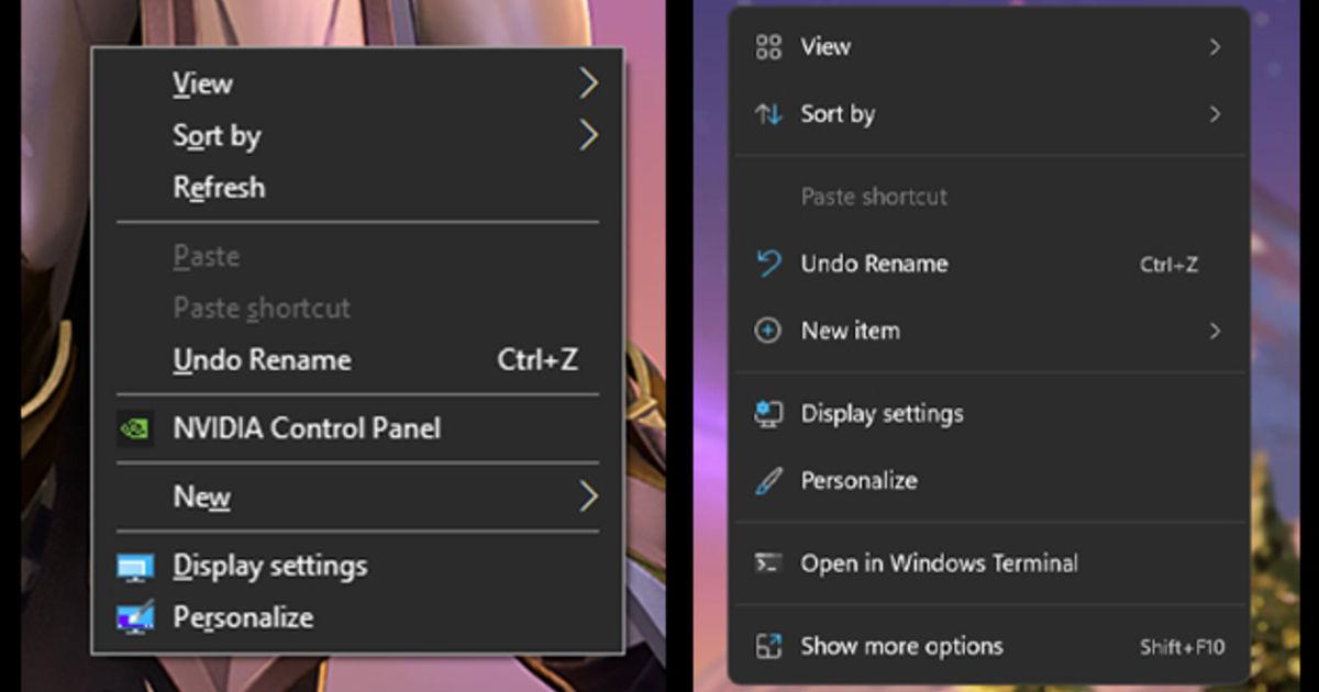 Windows 11 vs Windows 10 UI changes featured image