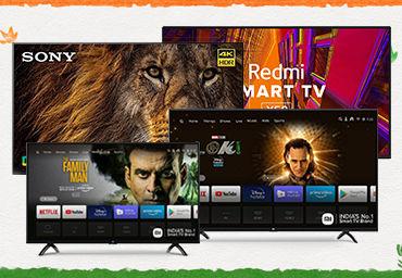Best selling smart TVs in Amazon Great Freedom Festival sale