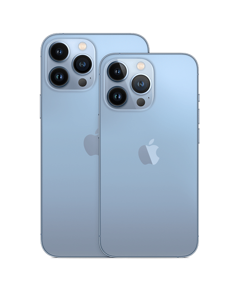 iPhone 13 pro and pro